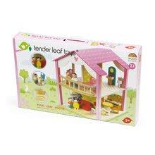 TL8121 h tender leaf pink leaf house