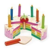 TL8282 a tender leaf rainbow birthday cake