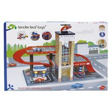 TL8581 h tender leaf blue bird service station