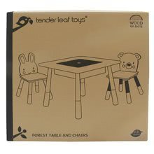 TL8801 g tender leaf forest table and chairs