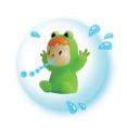 Smoby detské odrážadlo Bubble Go a sedátko do vody žaba 720101-4