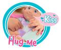 Bábika pre deti Minikiss Smoby s cumlíkom 27 cm 210118 fialová