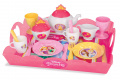 Servírovacia tácka s čajovou súpravou Disney Princezné Smoby 17-dielna 310559 ružová