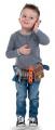 Detský opasok s pracovným náradím Bob staviteľ 360152 hnedý