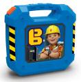 Detský kufrík s pracovným náradím Bob Staviteľ 360153 modrý