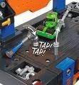 Pracovný stôl so žeriavom a cestným valcom Smoby 360715