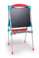 Smoby detská magnetická obojstranná tabuľa 410101 tyrkysovo-červená