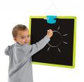 Magnetická tabuľa pre deti obojstranná závesná Activity Smoby 410707 zelená