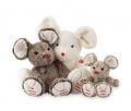 Kaloo plyšová hnedá myška Rouge Kaloo pre najmenšie deti 963528 hnedá