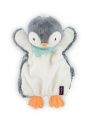 Kaloo bábka plyšový tučniak Les Amis-Penguin Doudou 969295 sivý