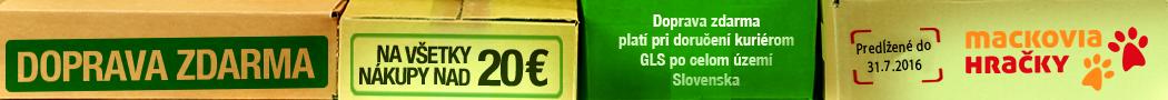 Doprava zadarmo nad 20€