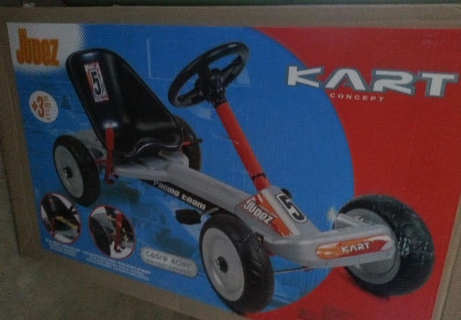 SMOBY 459100 Go kart autó lábbal hajtható, 3 éves kortól