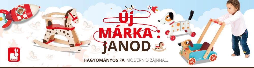 Új márka: Janod