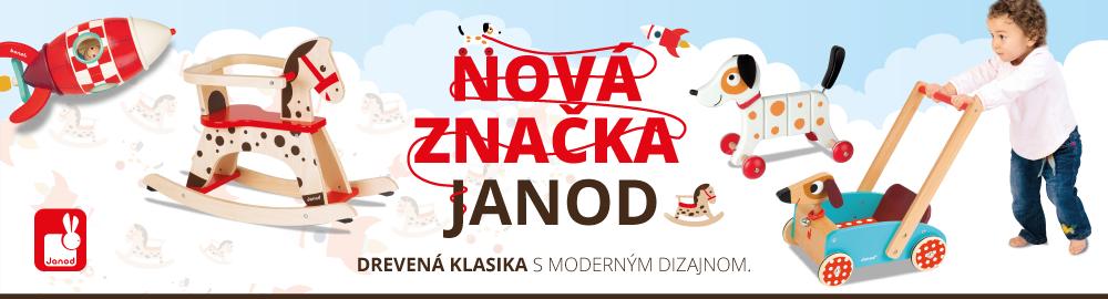 Nová značka Janod