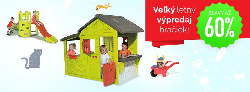 Veľký letný výpredaj hračiek až -60%!