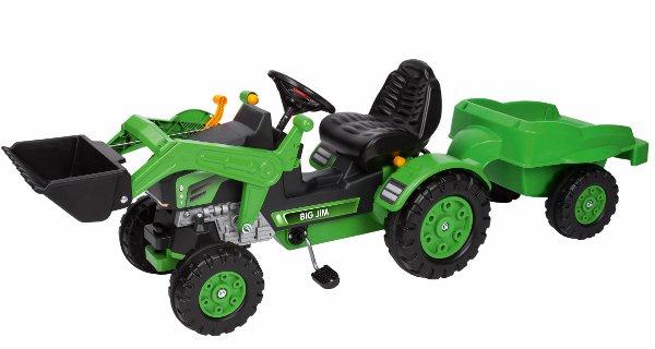 Šliapací traktor pre deti BIG