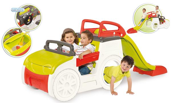Prolézačka Adventure Car