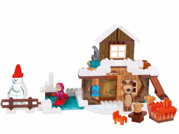 Detská stavebnica Máša a medveď