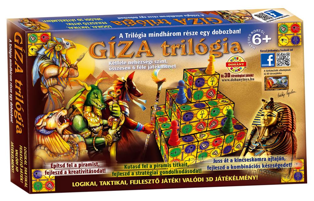 DOHÁNY 628 Társasjáték Giza Trilogia