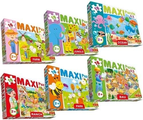 DOHÁNY 640 Baby Maxi puzzle 16 darabos 24 hó kortól