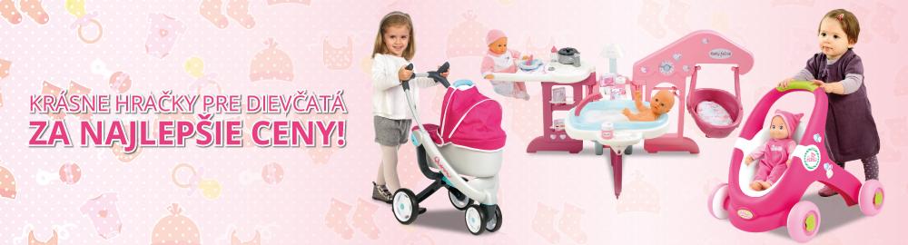 Krásne hračky pre dievčatá za najlepšie ceny!