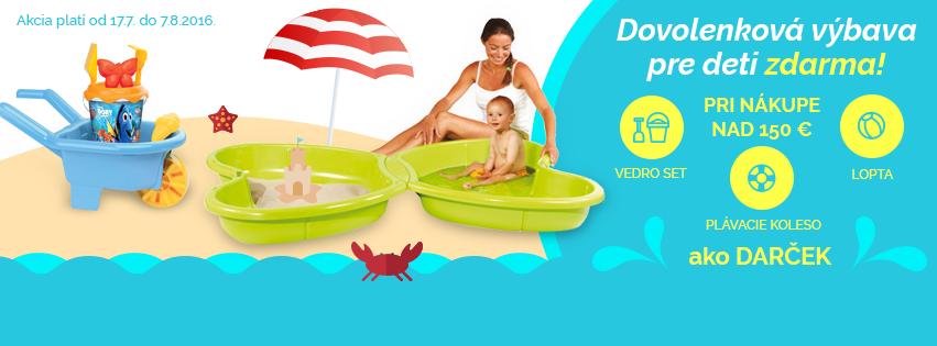Povinná výbava pre deti na dovolenku!