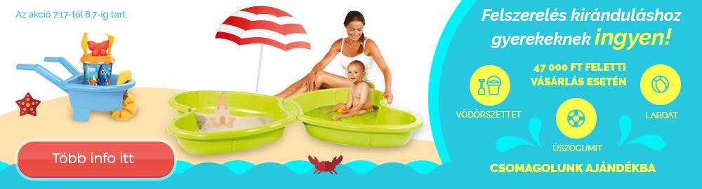 Kötelező felszerelés gyerekeknek a nyári kirándulásra!