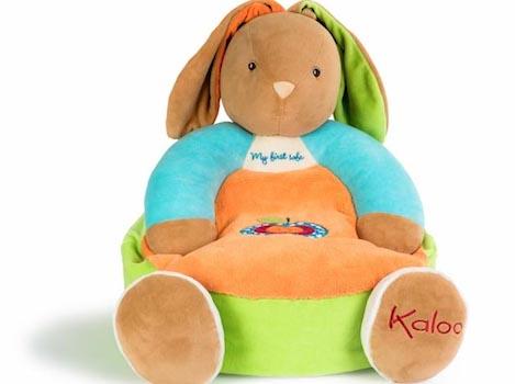 Plyšové křeslo pro miminko Kaloo