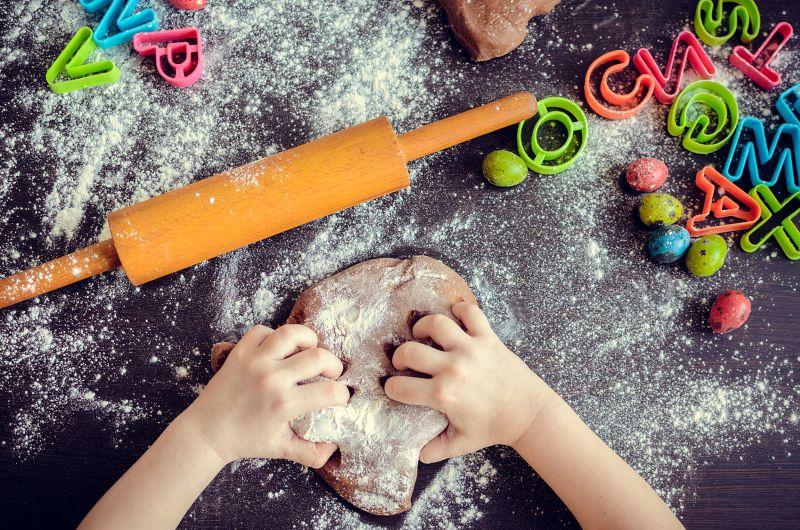 Vianoce a deti v kuchyni