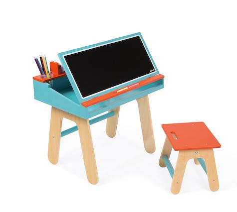 Dřevěná školní lavice Janod