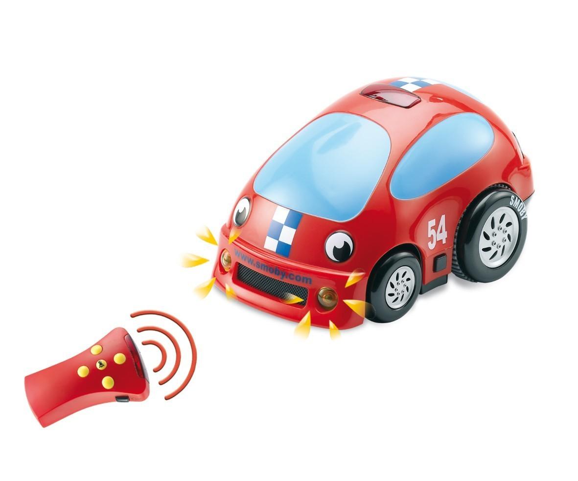 Mașină Vroom Planet Smoby cu lumină şi sunete lungime de la 18 luni