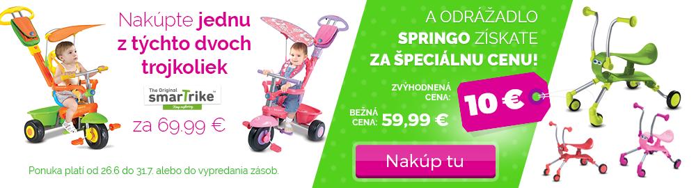 Odrážadlo Springo iba za 10 €!