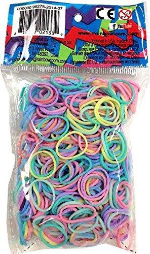 Rainbow Loom gumičky mix - Rainbow Loom originálne gumičky pastelový mix 600 kusov od 6 rokov