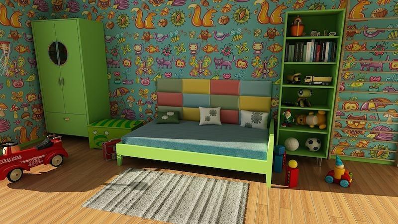 Pohrajte se s dekorací v dětském pokoji