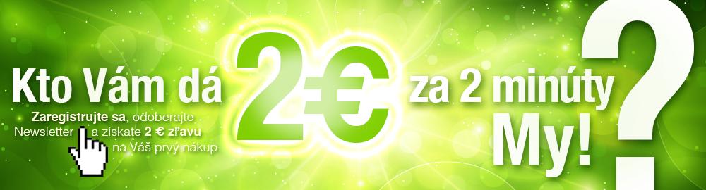 2 € za 2 minúty