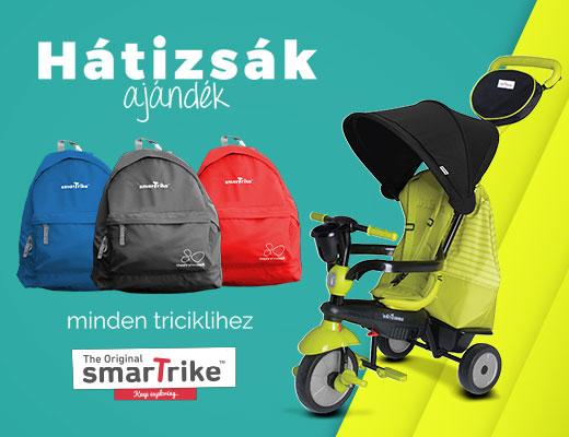 SmarTrike tricikli mellé ajándék hátizsák!