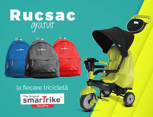La tricicleta smarTrike rucsac gratuit!