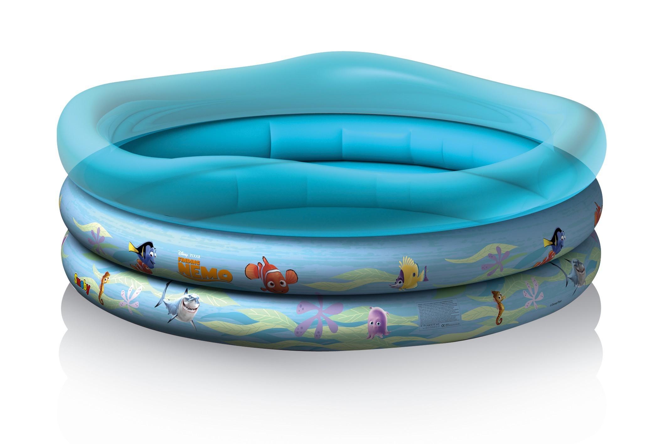 Nafukovací bazén Hledá se Nemo Smoby tříkomorový 140 cm od 10 měsíců