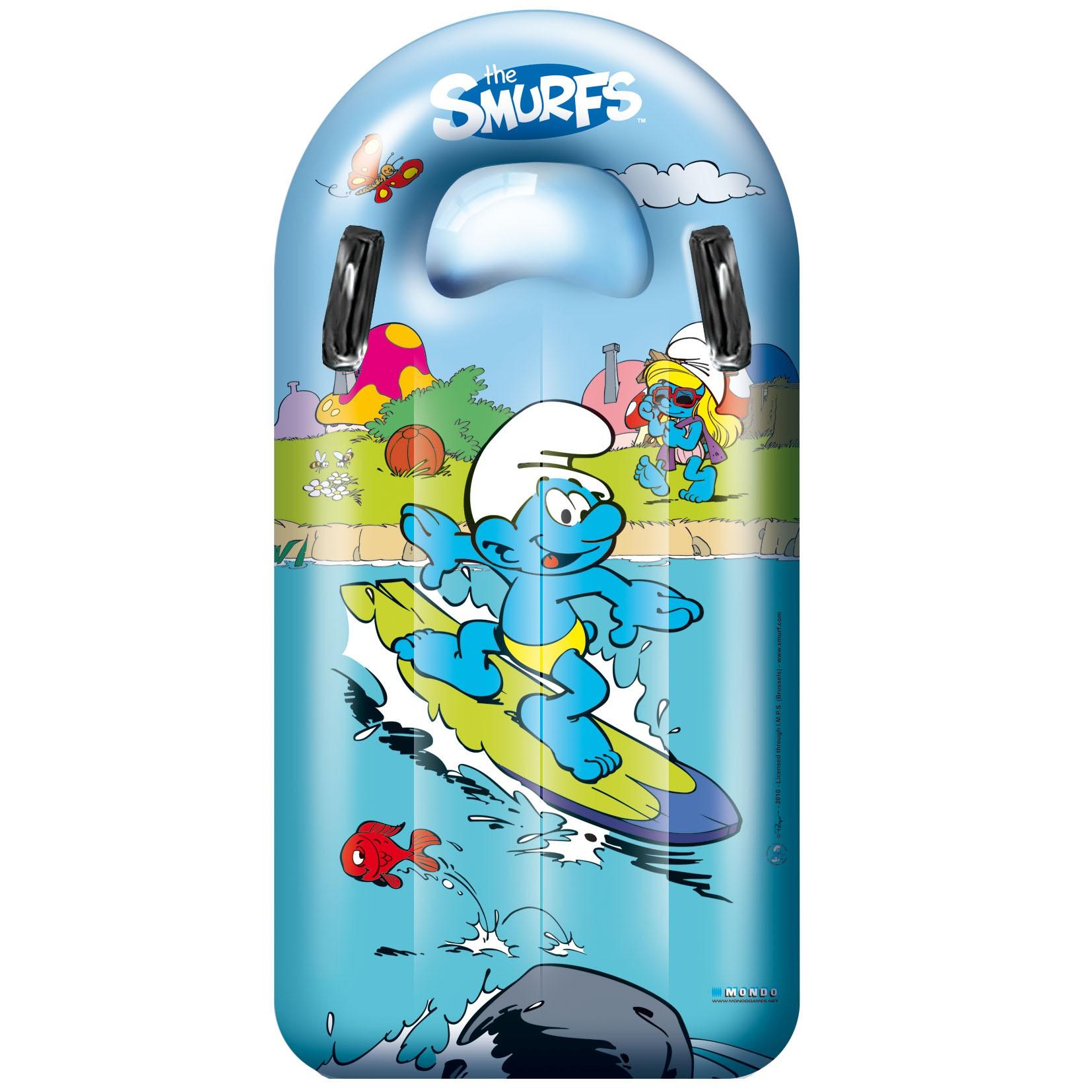 Napihljiva blazina Smrkci Mondo Surf Rider 110 cm