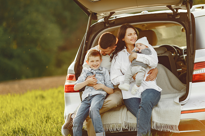 Aktivity auto rodina