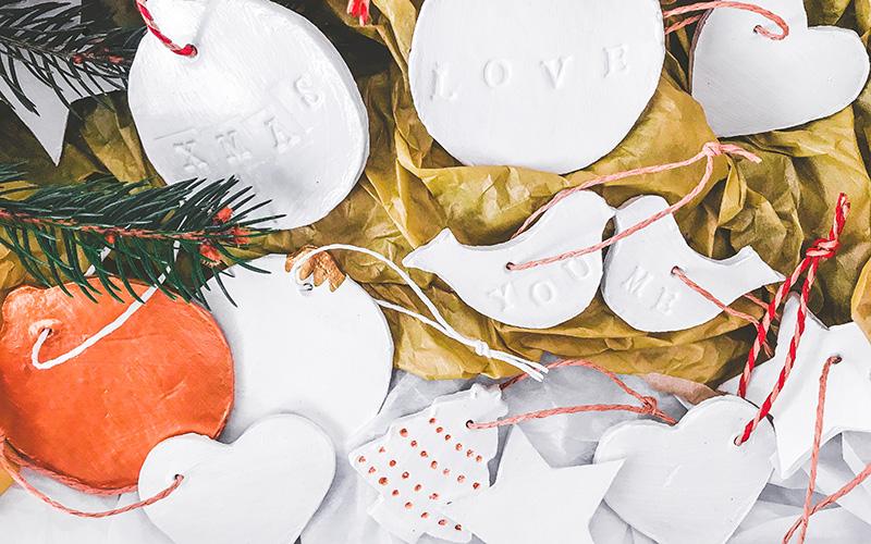 Božične dekoracije okraski