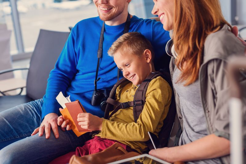 Cesta s deťmi letecky