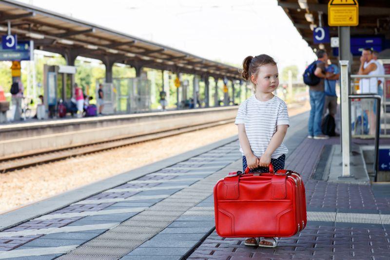 Cesta vlakom s deťmi