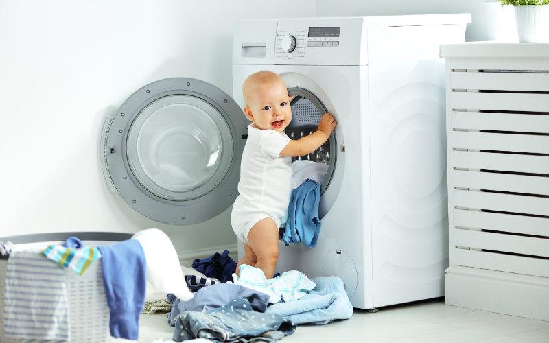 Triedenie bielizne pred praním