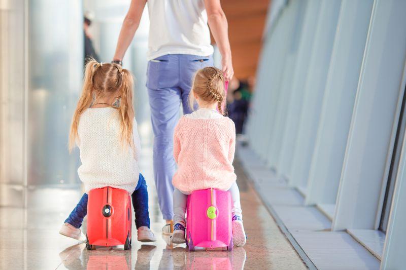 Deti a cestovanie lietadlom