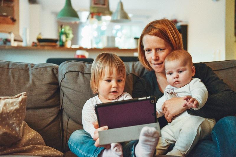 Deti tablet obrazovka