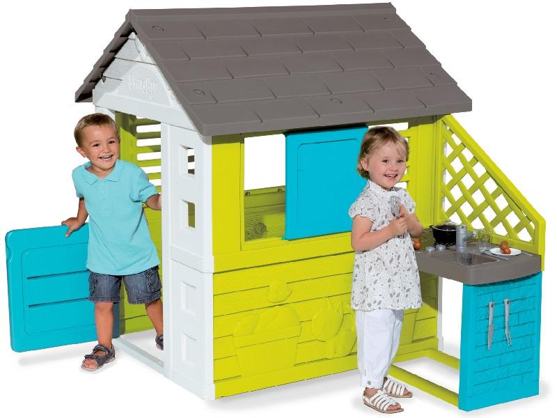 Dětský domeček Pretty Blue Smoby