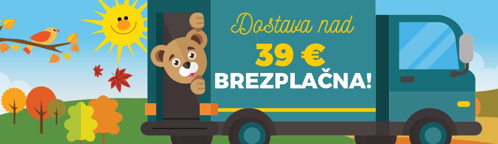 Doprava nad 39€ SI