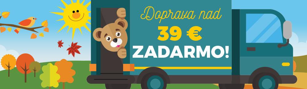 Doprava nad 39€ SK