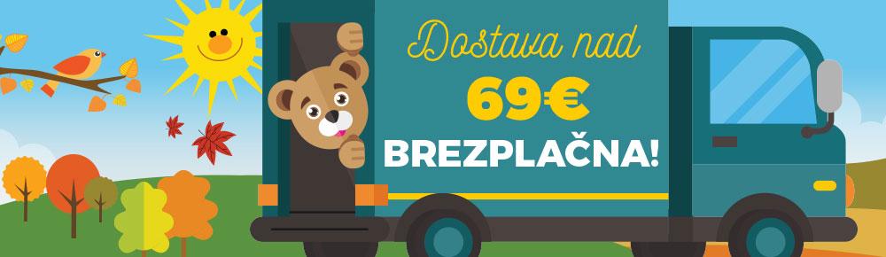 Doprava nad 60 €